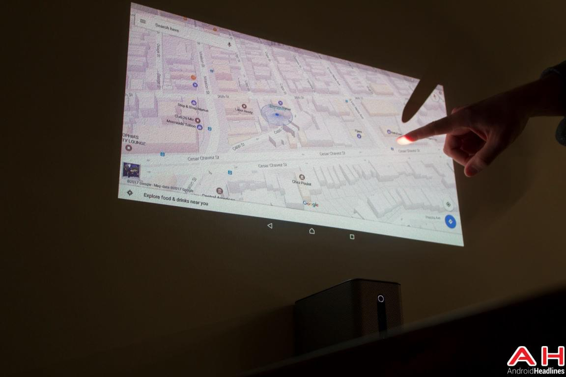 Sony Xperia Touch Hands On AH 10