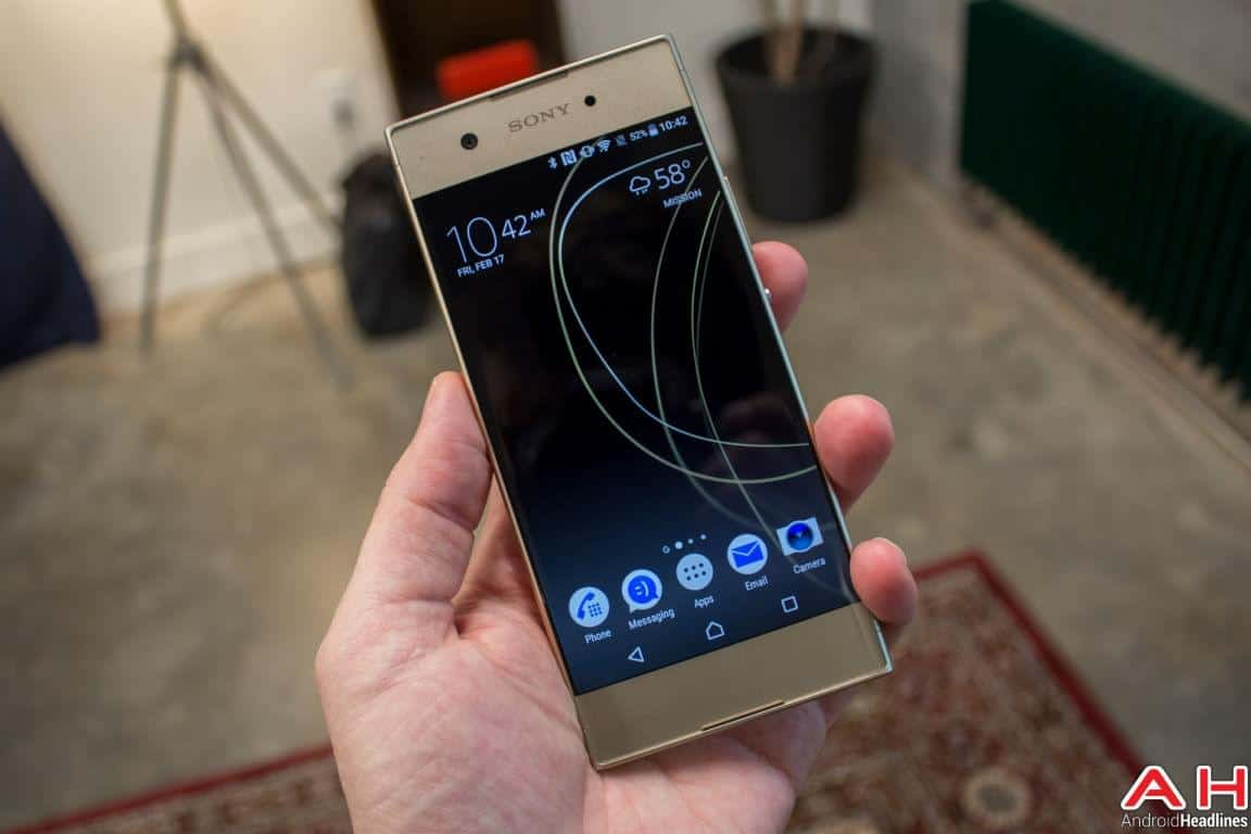 Sony Xperia XA1 Hands On AH 7