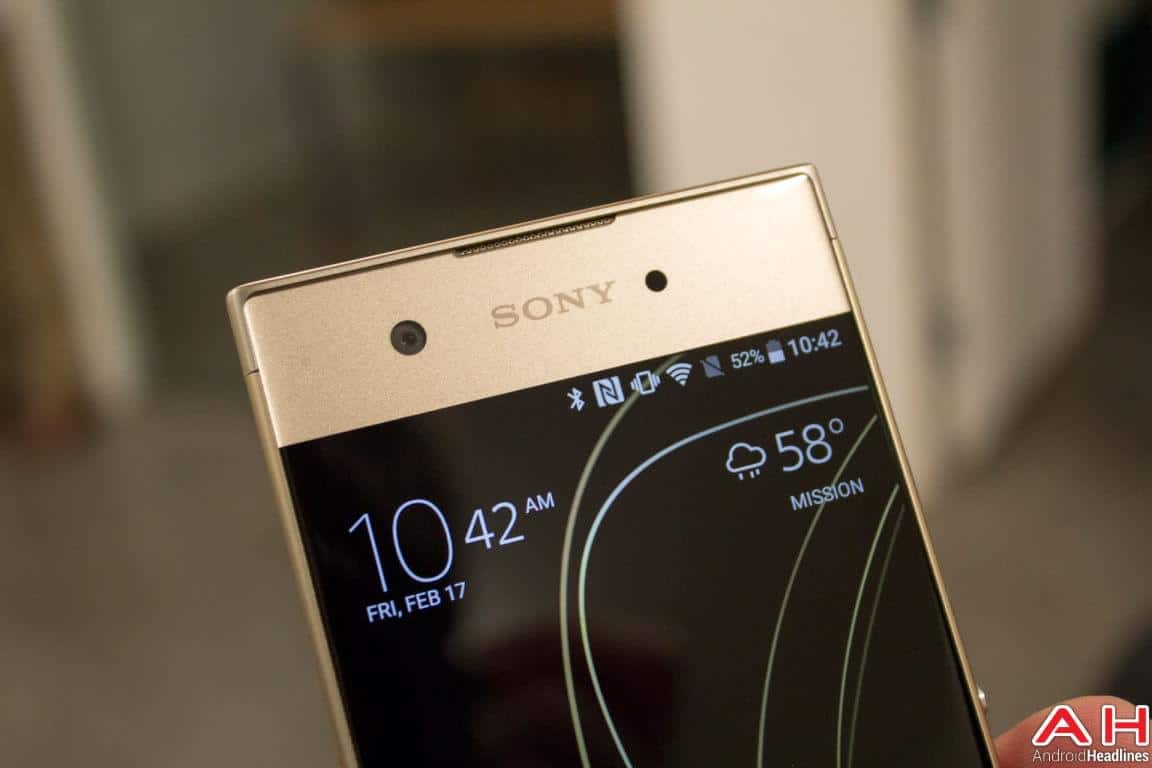 Sony Xperia XA1 Hands On AH 8