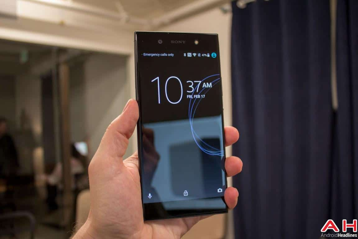 Sony Xperia XA1 Ultra Hands On AH 10