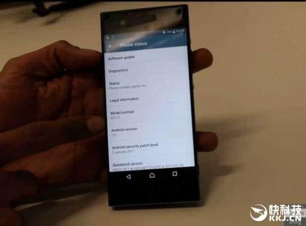 Sony Xperia XA2 leak 2