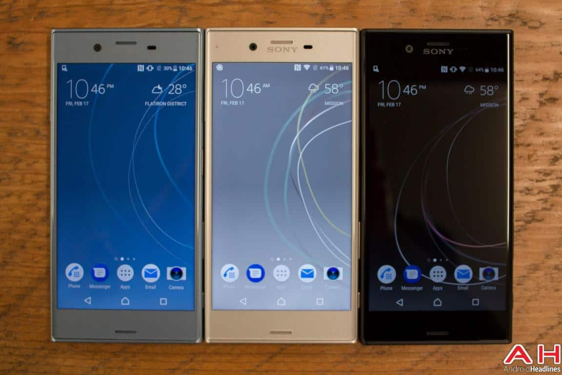 Sony Xperia XZs Hands On AH 4