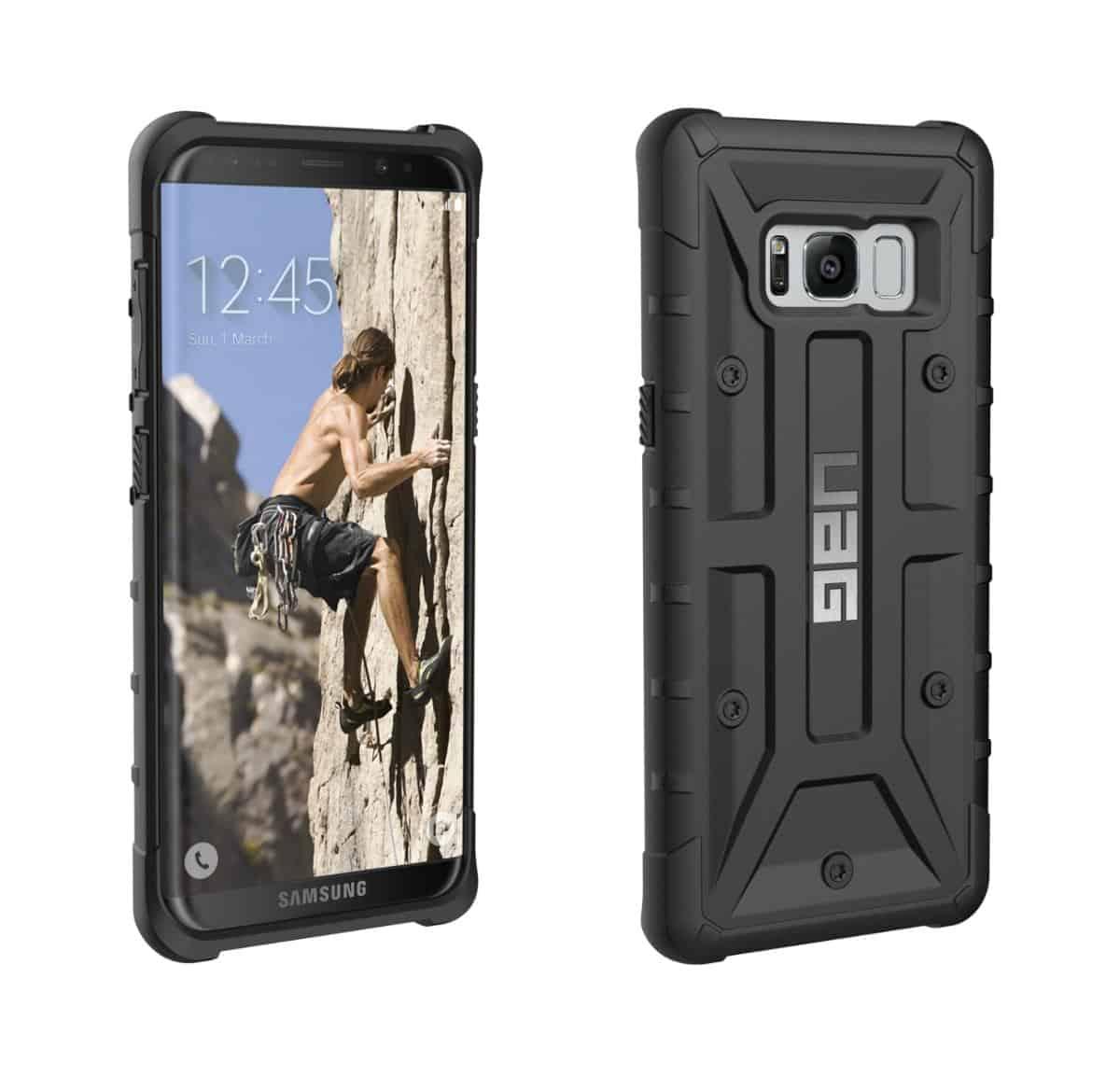 UAGs Samsung Galaxy S8 Pathfinder case pre launch 11