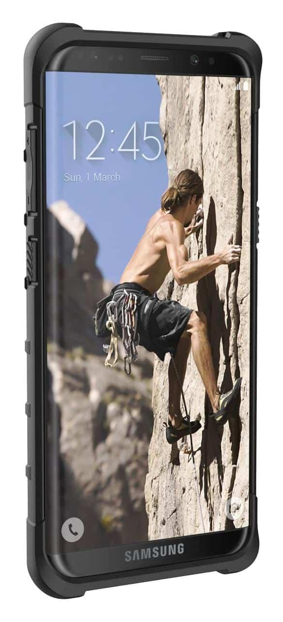 UAGs Samsung Galaxy S8 Pathfinder case pre launch 8
