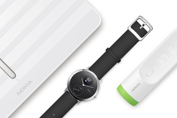 Withings products rebranded Nokia 1