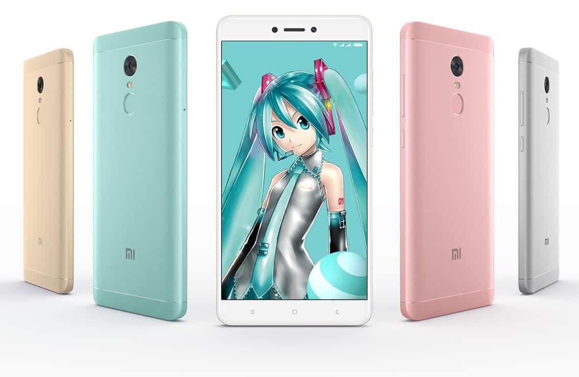 Xiaomi Redmi Note 4X Hatsune Miku Special Edition 1