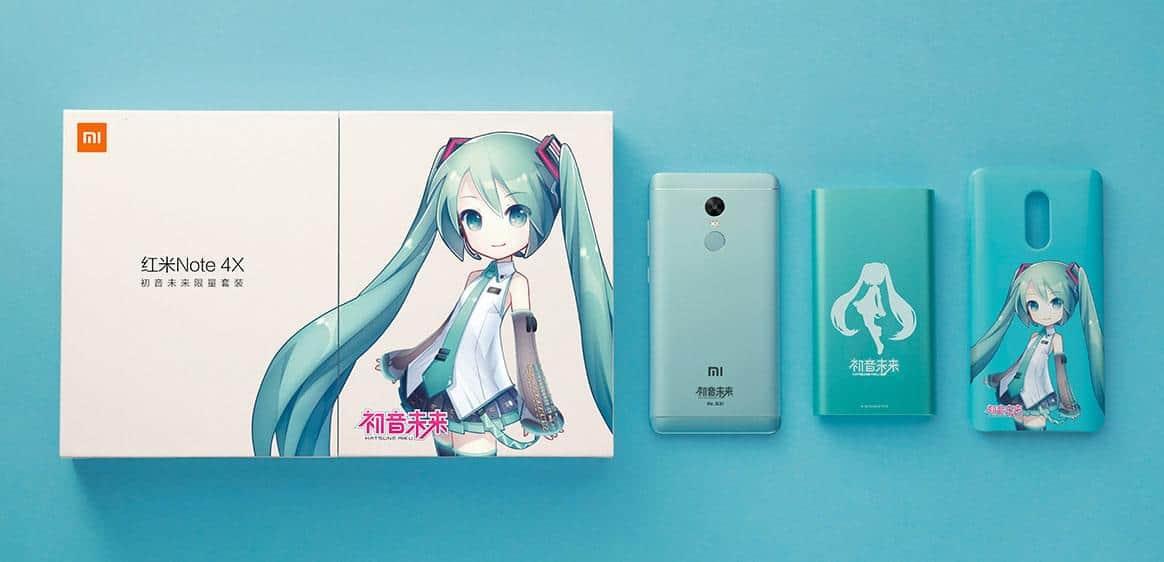 Xiaomi Redmi Note 4X Hatsune Miku Special Edition 2
