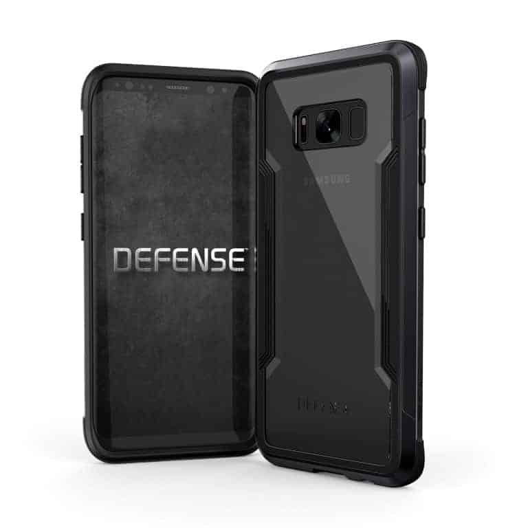 456609 DefenseShield GalaxyS8 Edge Black Medium