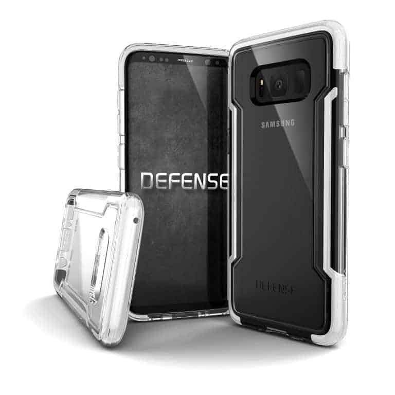456661 DefenseClear GalaxyS8 Edge White Medium