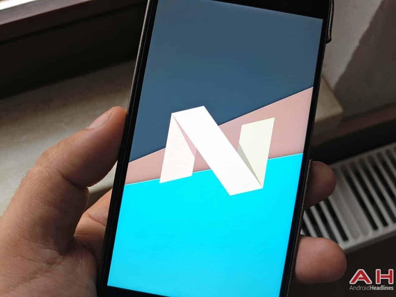 AH Nougat logo Xiaomi Mi 5 1