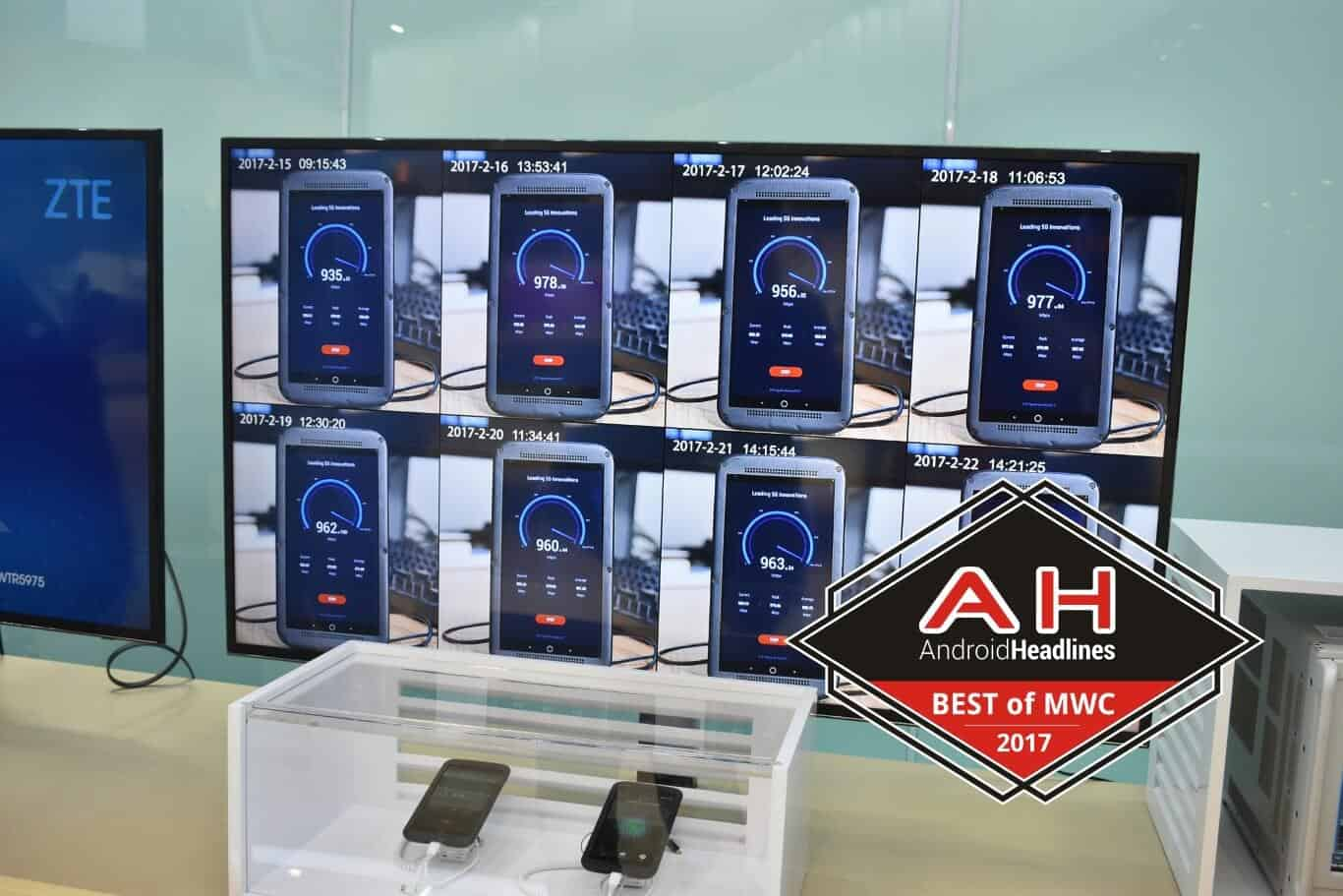 AH best of MWC 2017 ZTE Gigabit Phone 1