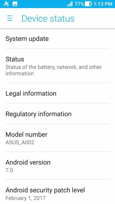 ASUS ZenFone AR FCC 2