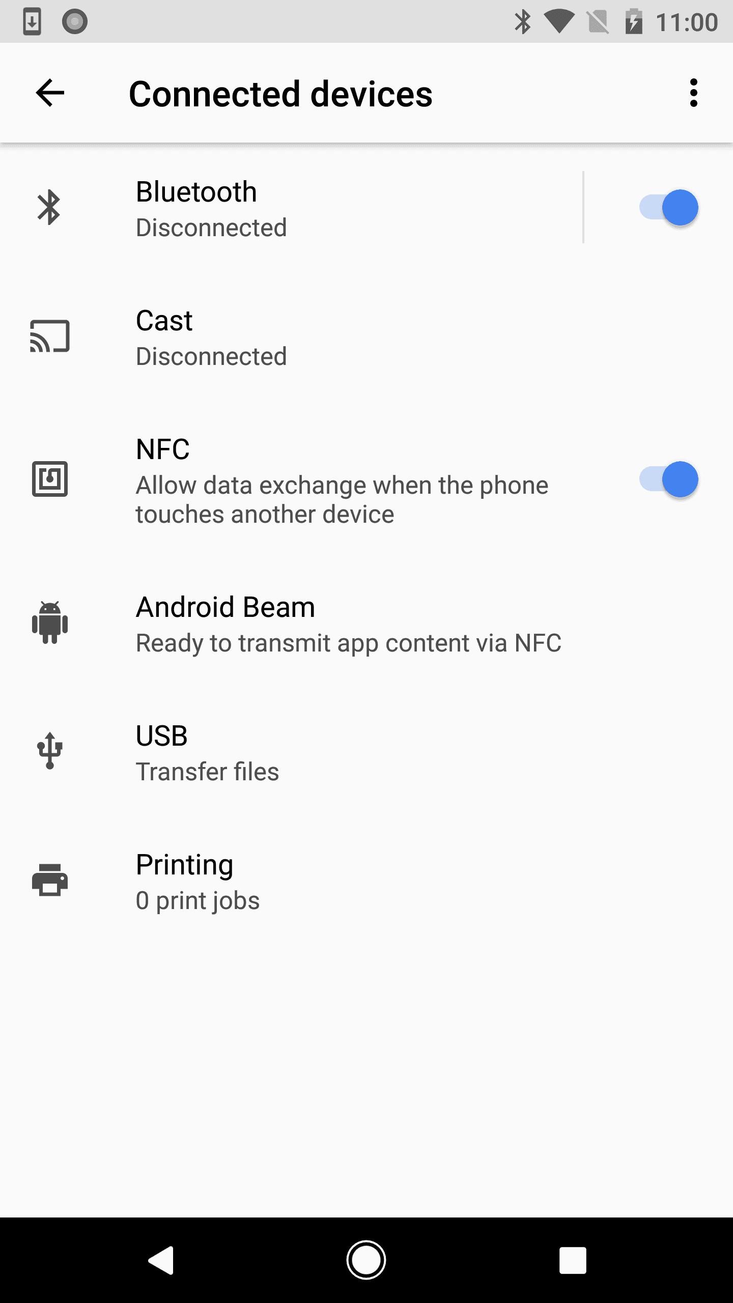 Android O Settings 2