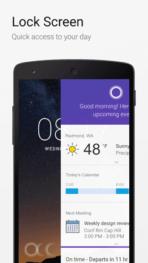 Cortana Lockscreen Android 1
