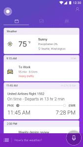 Cortana Lockscreen Android 2
