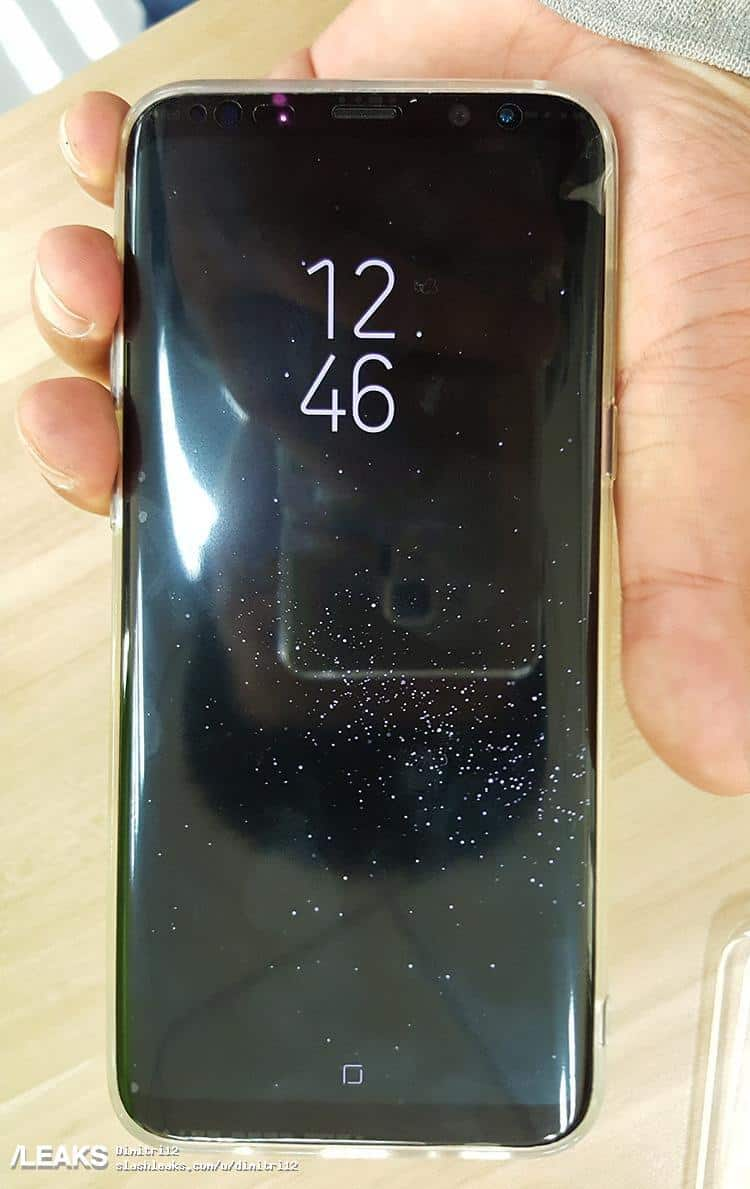 Galaxy S8 leak real life image 11