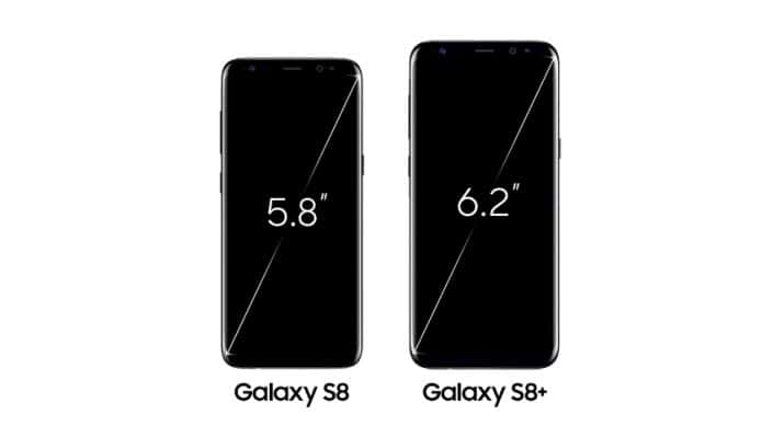 Galaxy S8 Infinity Display 1