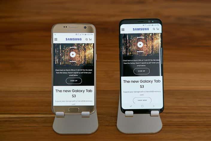 Galaxy S8 Infinity Display 7