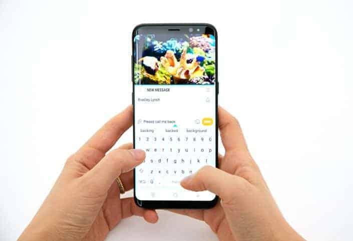 Galaxy S8 Infinity Display 8