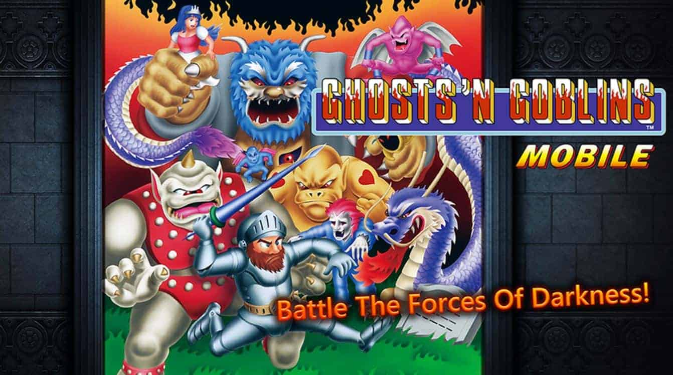 Ghosts 'n Goblins MOBILE Game Now Available On Android in gaming history thi sweek.