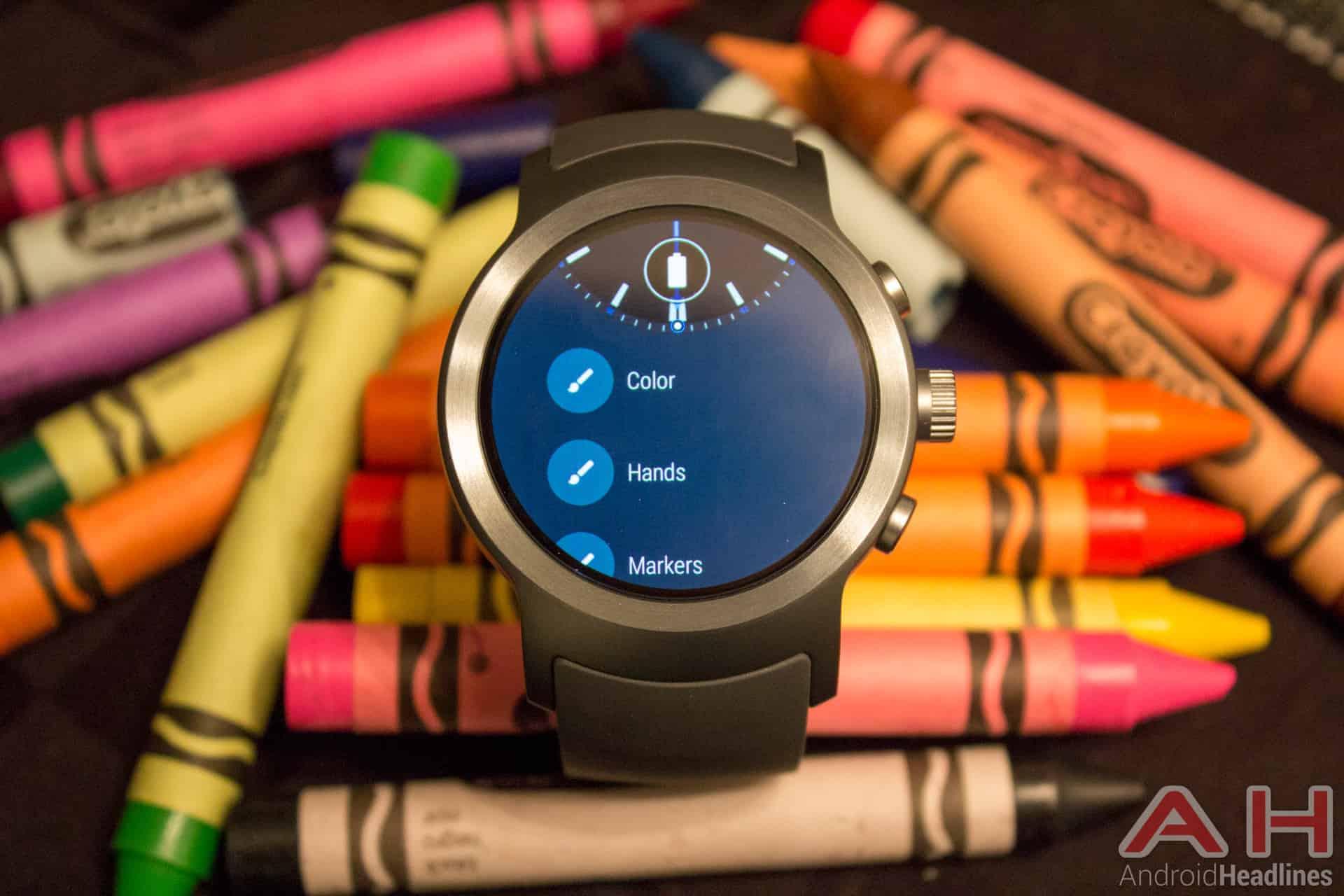 LG Watch Sport AH NS 13 customization