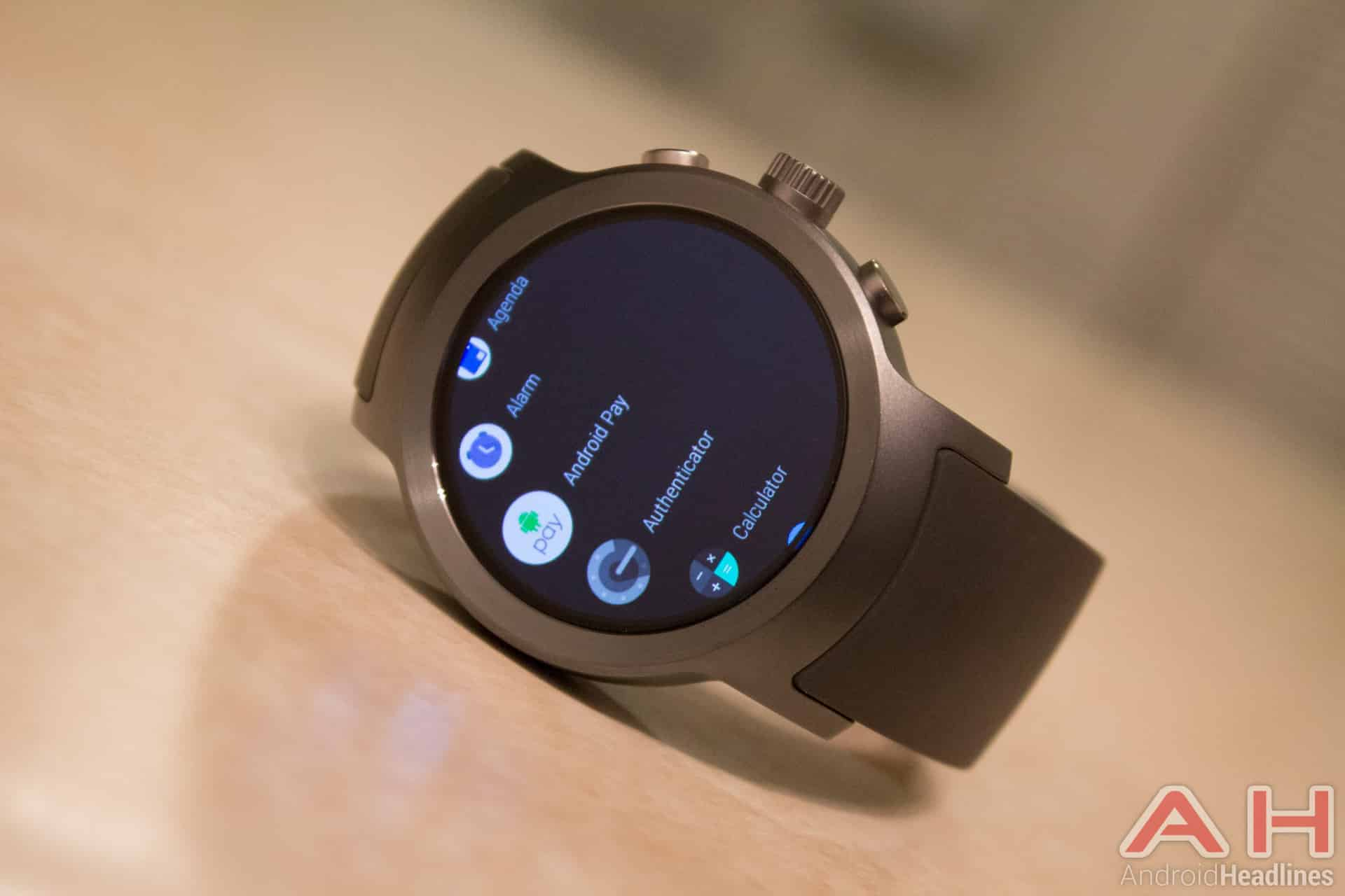 LG Watch Sport AH NS 17 android pay