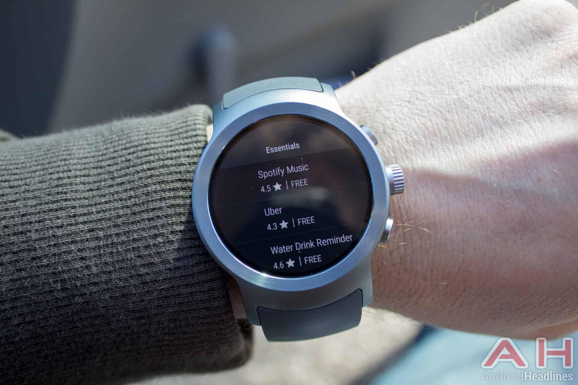 LG Watch Sport AH NS 22 play store wear