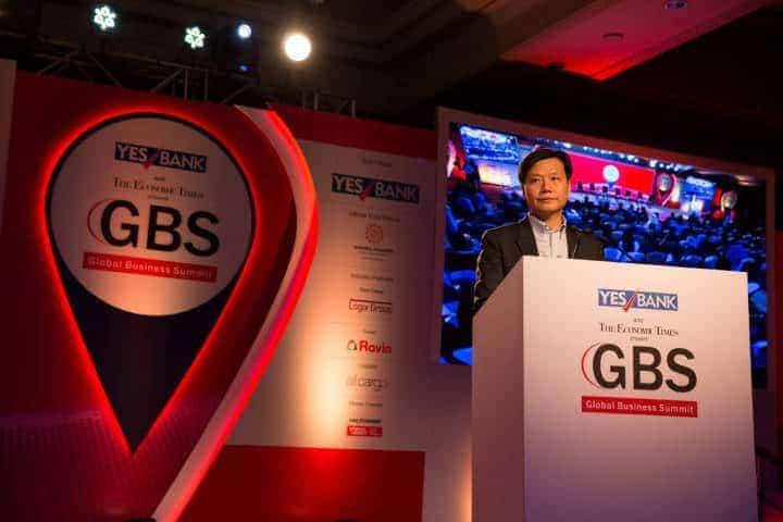 Lei Jun Global Business Summit India 2017 KK