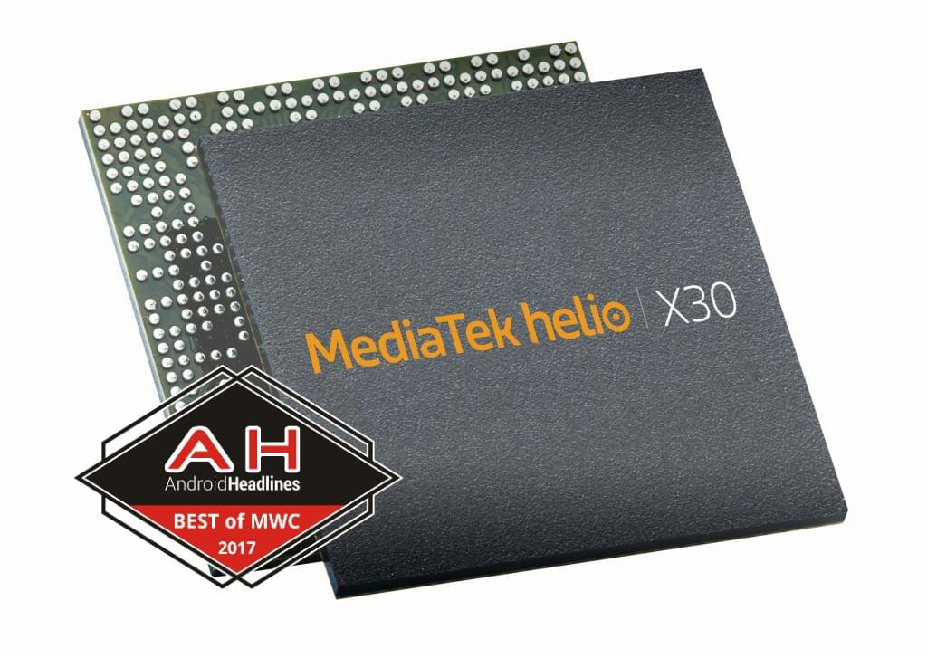 MediaTek Helio X30 best of MWC 2017 1