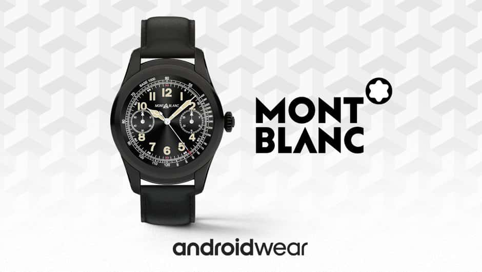 Montblanc Unveils Summit Android Wear Watch, Priced From ...
