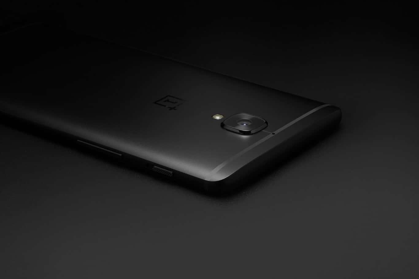OnePlus 3T Midnight Black 3