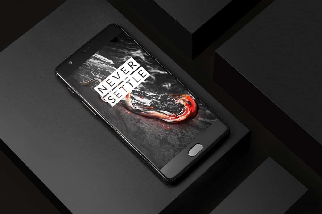 OnePlus 3T Midnight Black Main 1