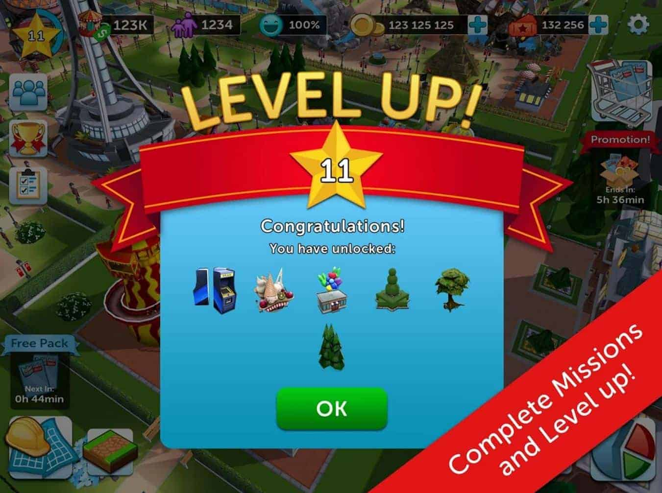 Rollercoaster Tycoon Touch 10