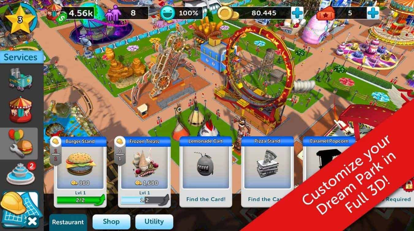 Rollercoaster Tycoon Touch 2