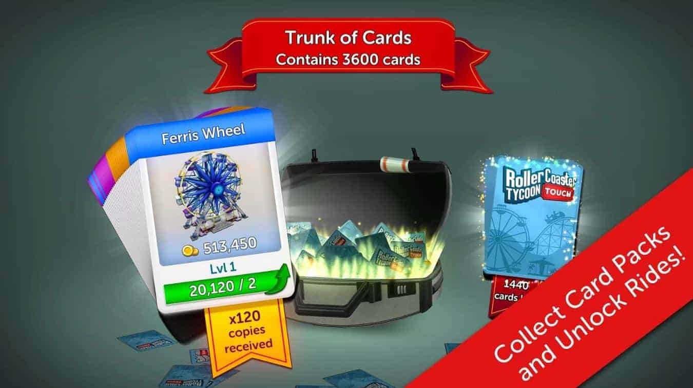 Rollercoaster Tycoon Touch 4