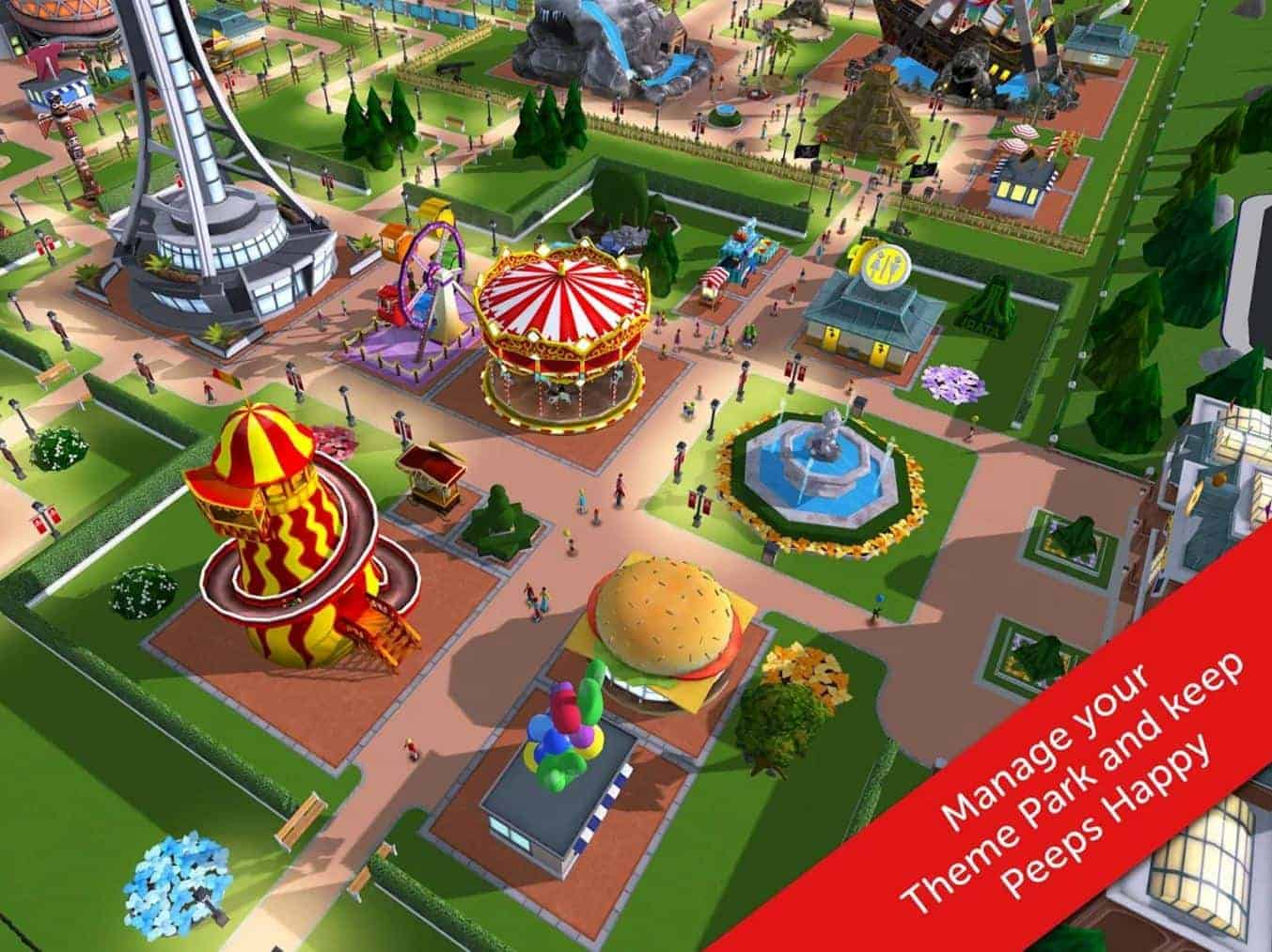 Rollercoaster Tycoon Touch 6