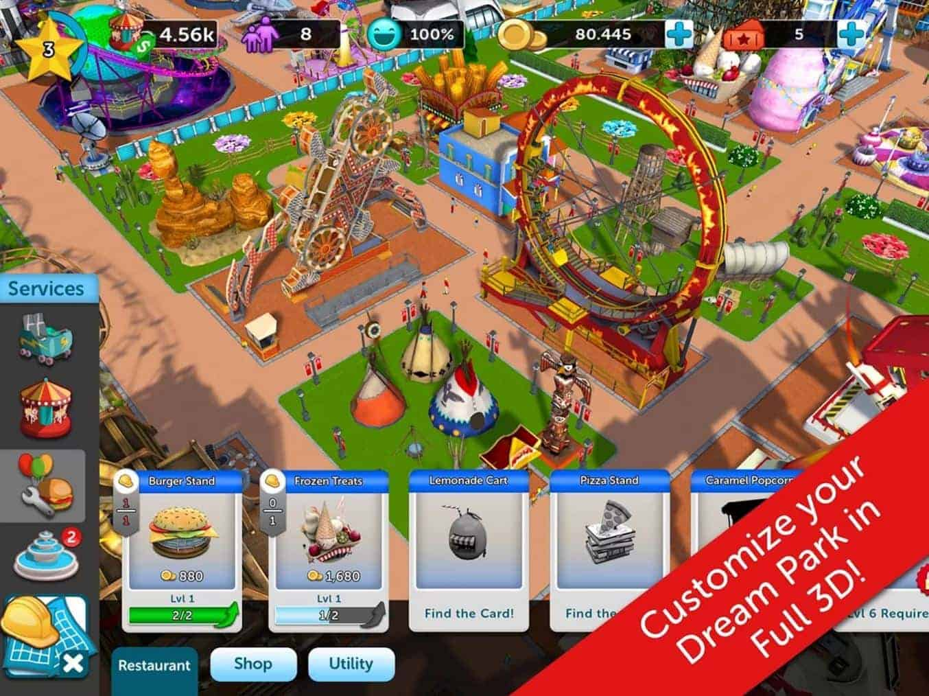 Rollercoaster Tycoon Touch 7