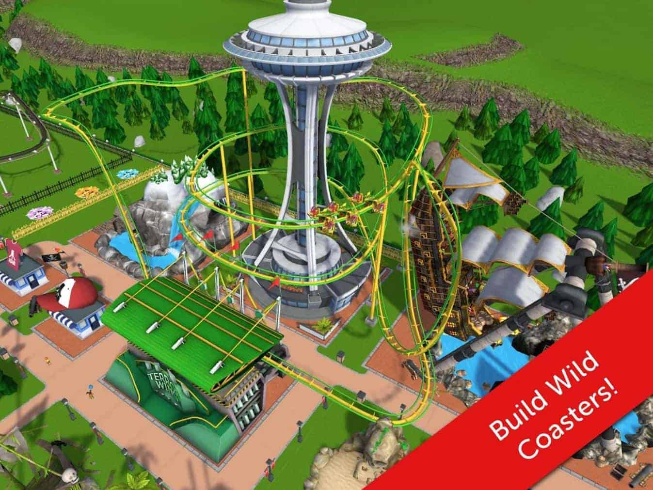 Rollercoaster Tycoon Touch 8