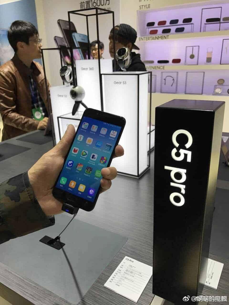 Samsung Galaxy C5 Pro Jet Black 4