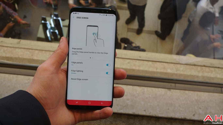 Samsung Galaxy S8 S8 Plus Hands On AH 100