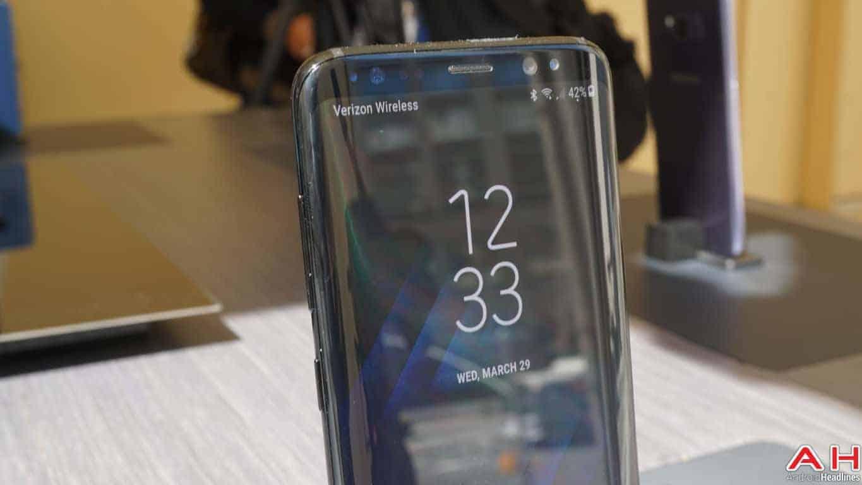 Samsung Galaxy S8 S8 Plus Hands On AH 106