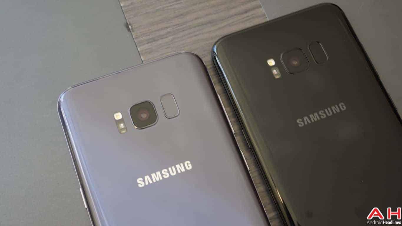 Samsung Galaxy S8 S8 Plus Hands On AH 115