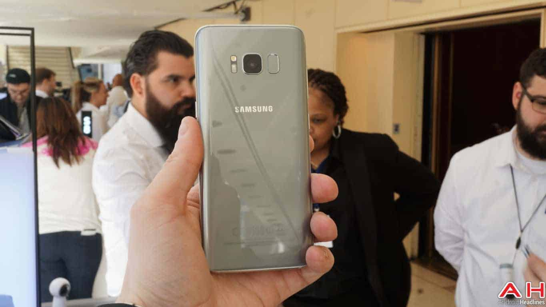 Samsung Galaxy S8 S8 Plus Hands On AH 127
