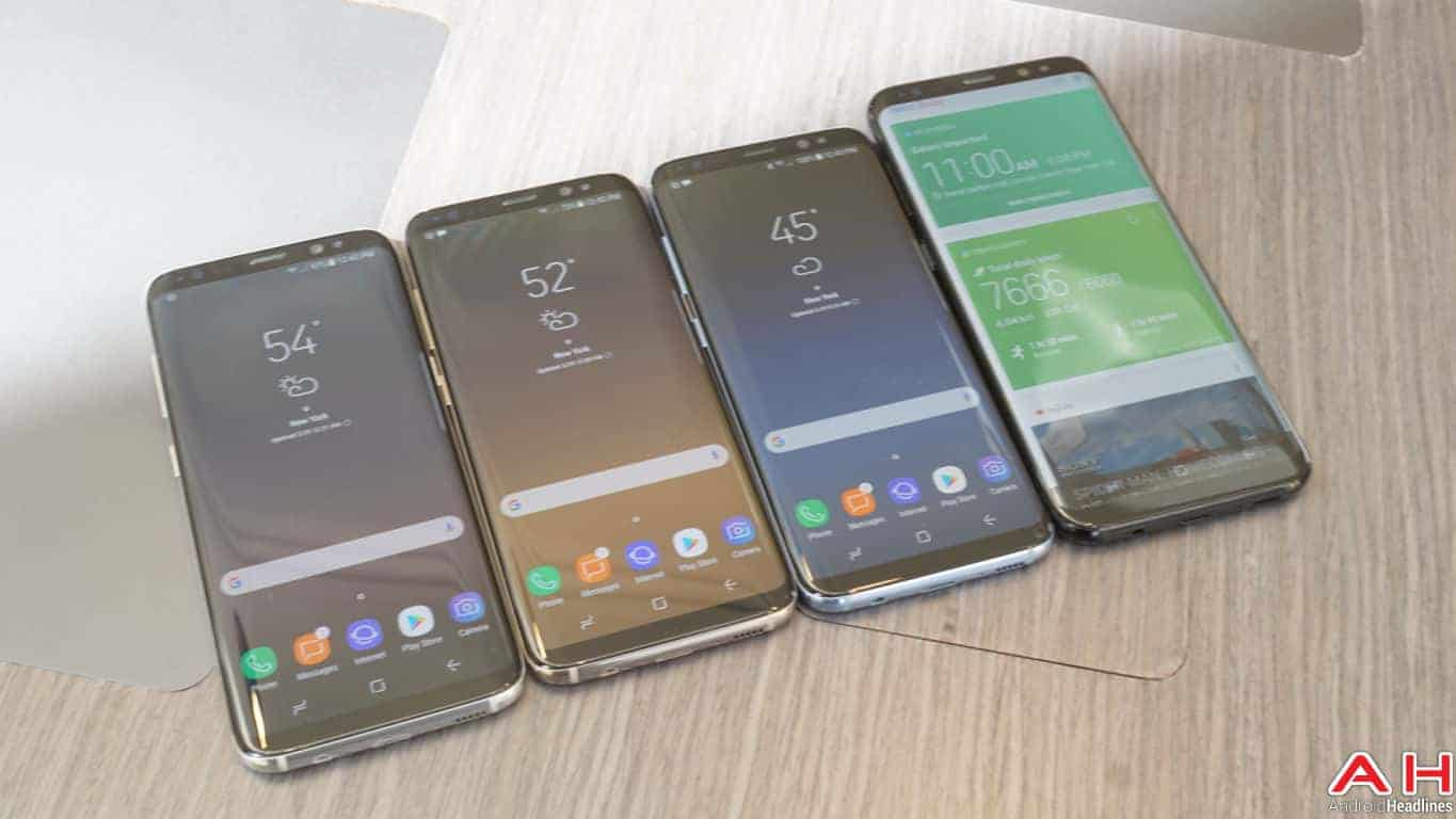 Samsung Galaxy S8 S8 Plus Hands On AH 134