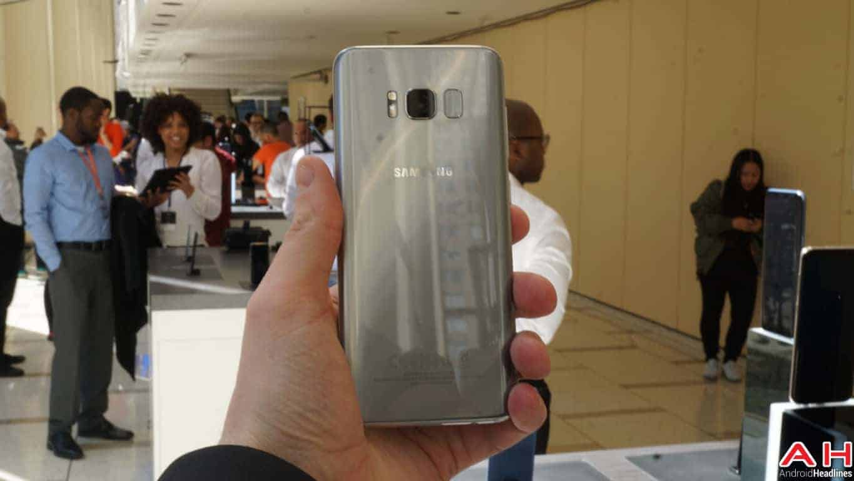 Samsung Galaxy S8 S8 Plus Hands On AH 145