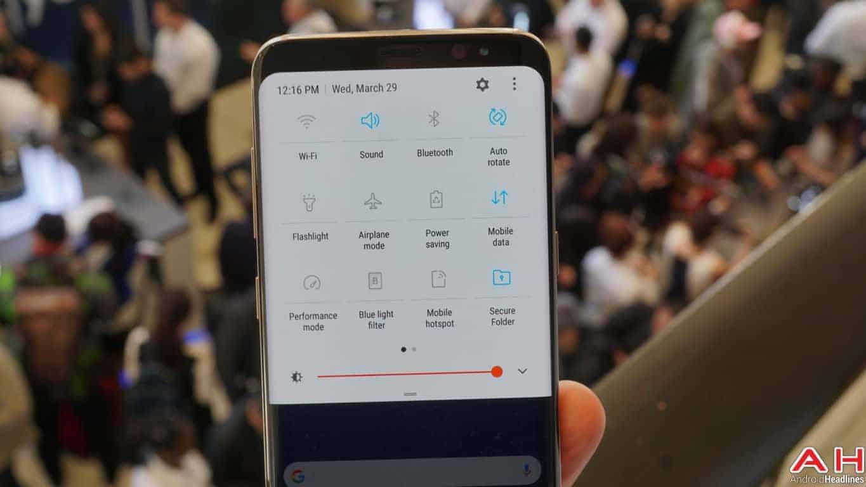 Samsung Galaxy S8 S8 Plus Hands On AH 41