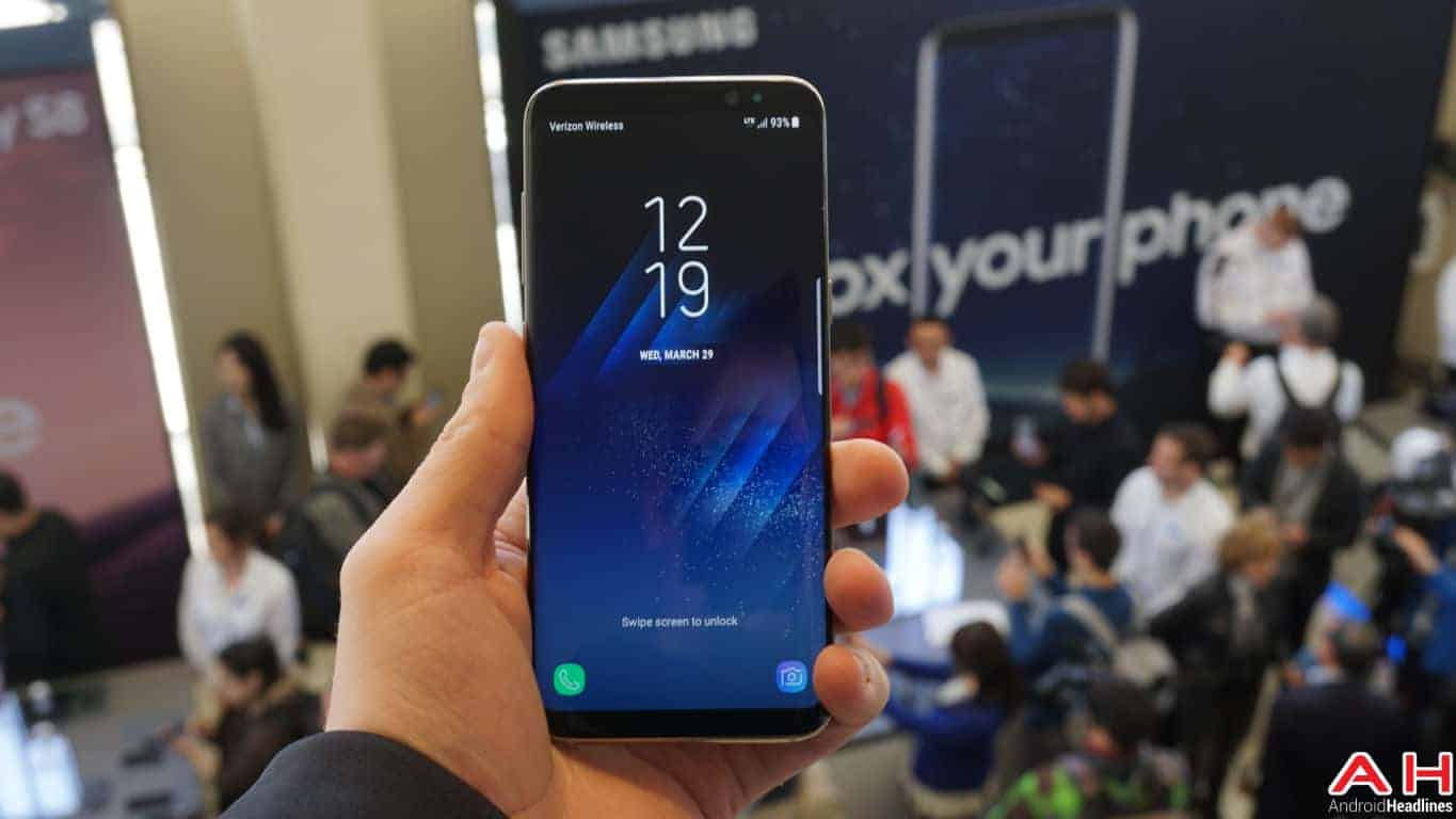 Samsung Galaxy S8 S8 Plus Hands On AH 60