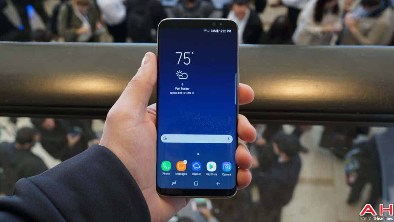Samsung Galaxy S8 S8 Plus Hands On AH 62