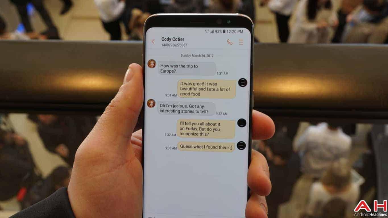 Samsung Galaxy S8 S8 Plus Hands On AH 64