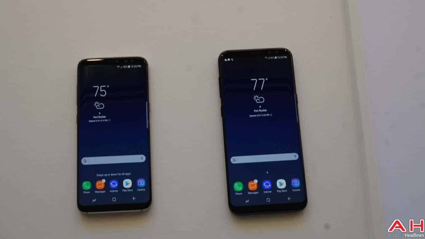 Samsung Galaxy S8 S8 Plus Hands On AH 68